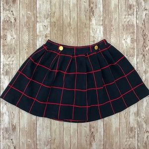 Zara Navy & Red Skirt Soft Collection
